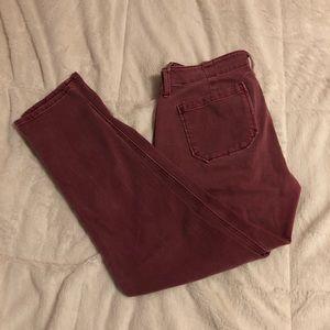 GAP | Maroon Jeans